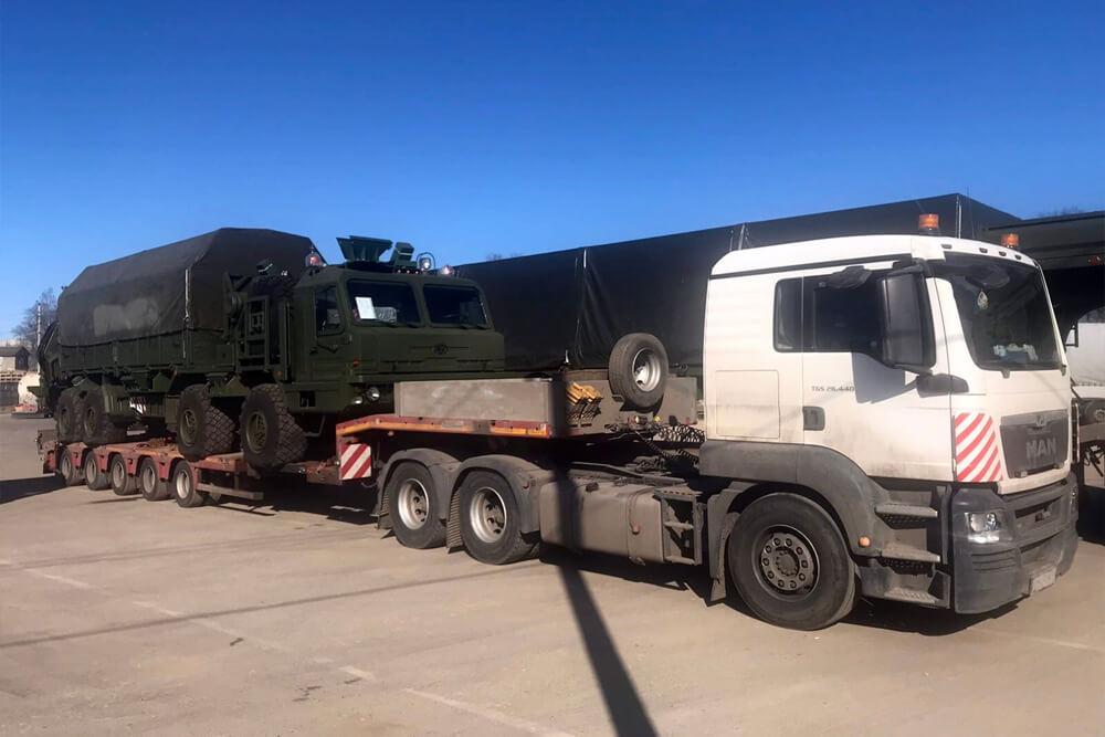 Что перевозили: Перевозка трех единиц военной техники с Иваново – в МО г. Бронницы для ЦНИИ Минобороны