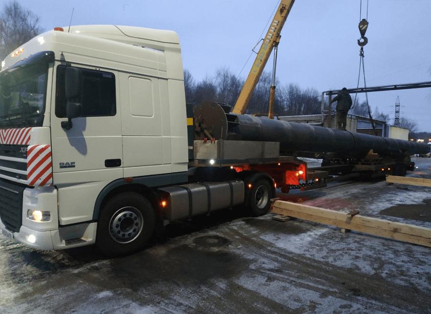 Что перевозили: Перевозка трубы по г. Ярославль