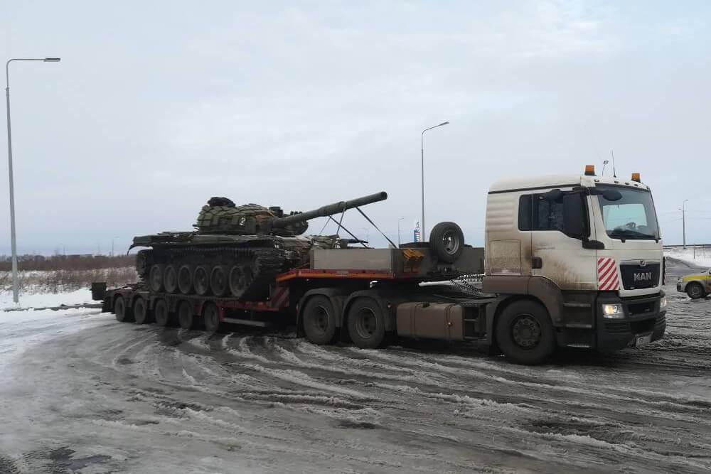 Что перевозили: Доставка демилитаризованного танка Т-72 в Государственный военно-исторический музей заповедник «Прохоровское поле»