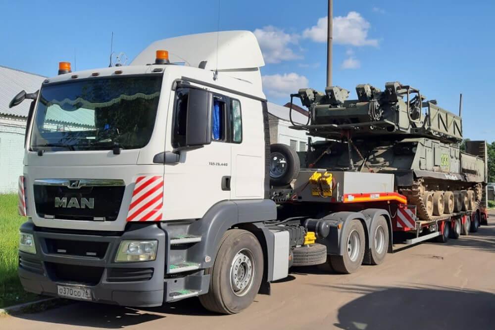 Что перевозили: Транспортировка военного изделия на ремонт для войсковой части