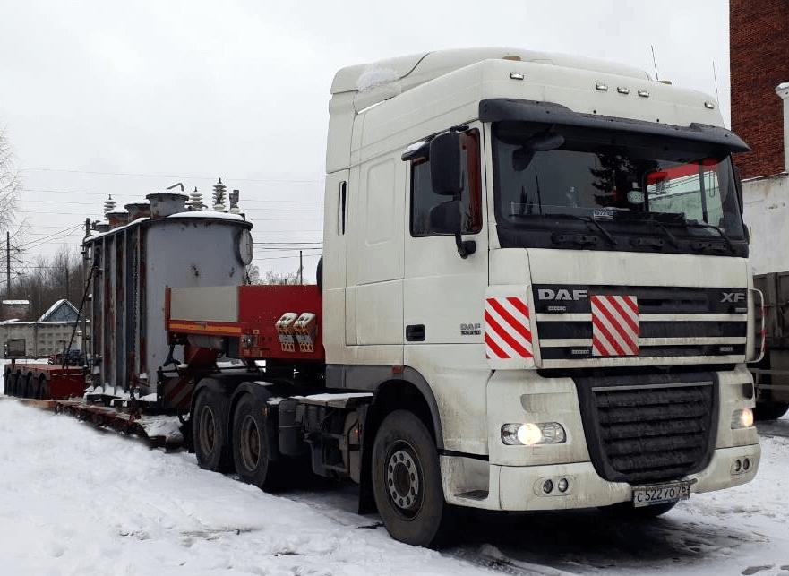 Что перевозили: Перевозка подстанции г.Ярославль