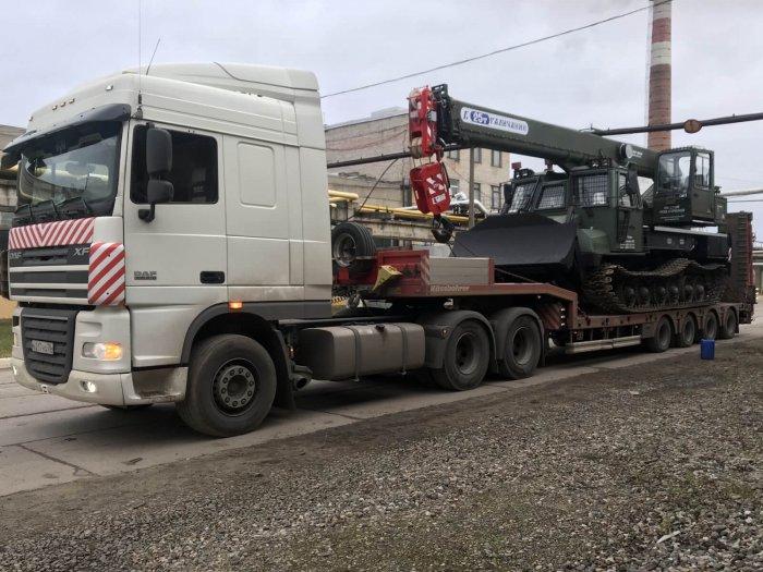 Перевозка гусеничных кранов в г.Мурманск