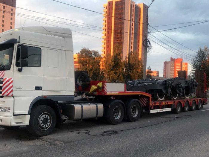 Маршрут: г. Ярославль – г. Коломна  Что перевозили: Железнодорожная тележка АО «РЖД»